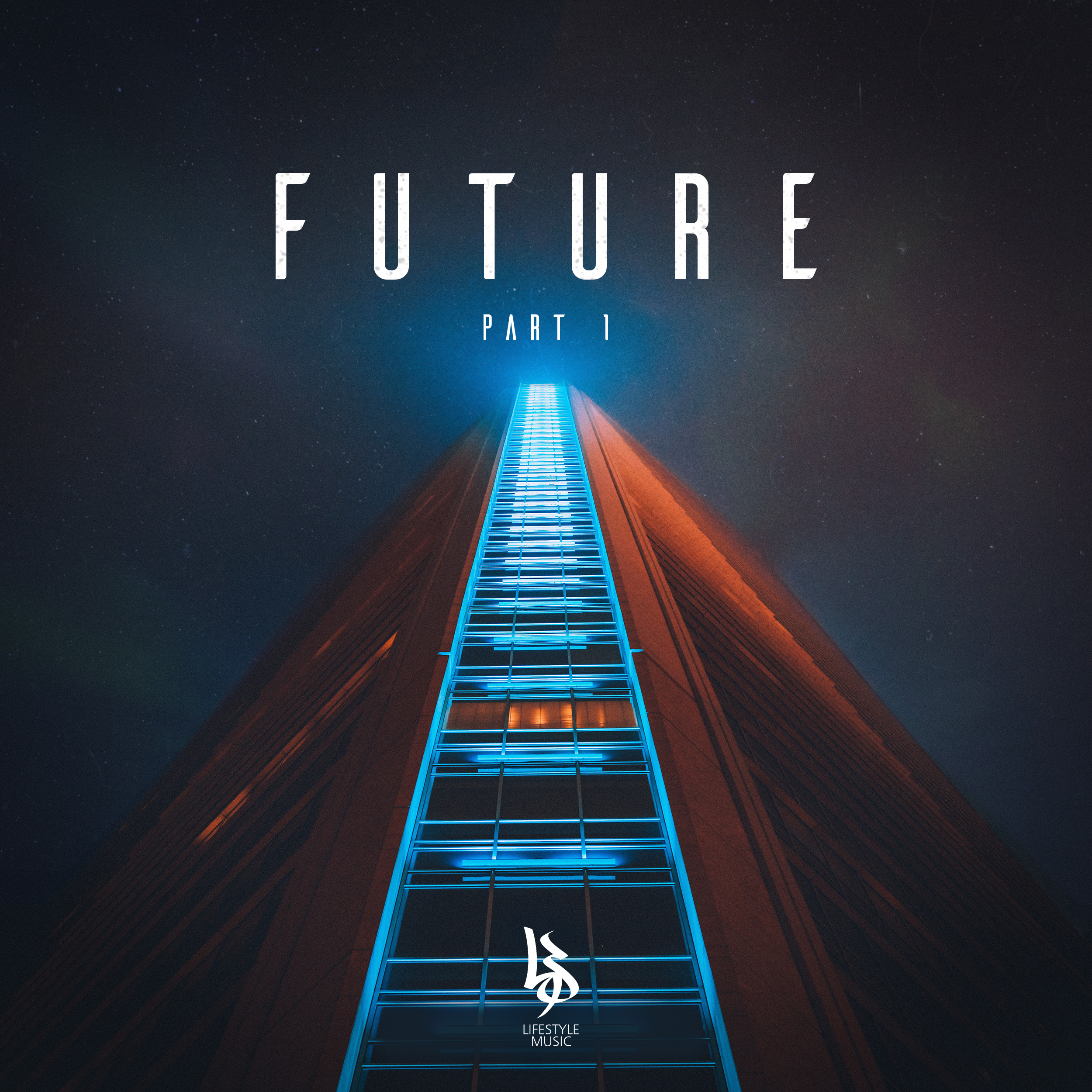 Lifestyle Music Future EP artwork by Jamie Boyle